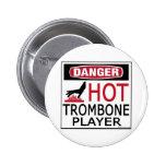 Hot Trombone Player Buttons