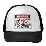 Hot Trombone Player Mesh Hats