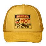 Hot Trombone Player Trucker Hat