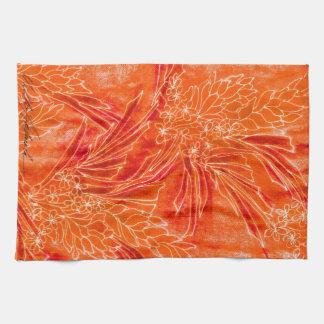 Hot Tropic Batik Kitchen Towel