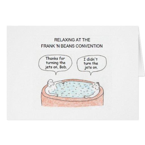 Hot Tub Cartoon Birthday Card Zazzle
