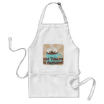 Hot Tub Marshmallow Time Standard Apron