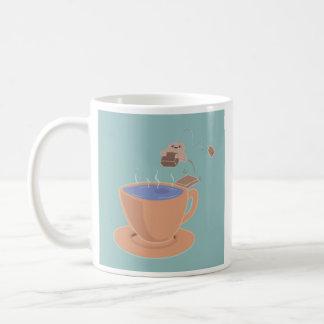 Hot Tub Tea Basic White Mug