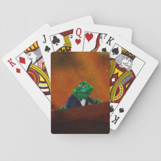 Hot Tuxedo Frog   #2 Playing Cards