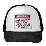 Hot Ukulele Player