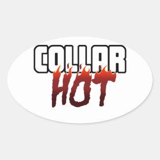 HOT Under the Collar Sticker