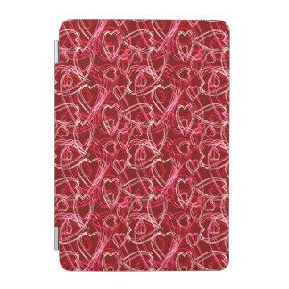 Hot Valentine Hearts iPad Mini Cover