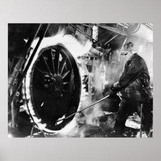 Hot Wheel, 1940s Poster