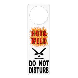 Hot & Wild Do Not Disturb Door Hanger