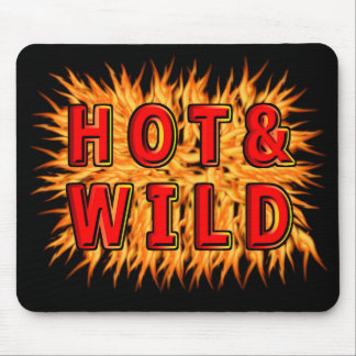 Hot & Wild Mouse Pad