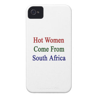 Hot Women Come From South Africa Case-Mate iPhone 4 Case