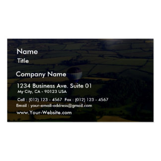 Hotair Ballon And View Double-Sided Standard Business Cards (Pack Of 100)