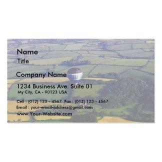 Hotair Ballon And View Business Card