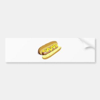 Hotdog Bumper Sticker