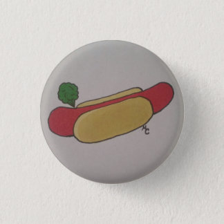 Hotdog Fart 3 Cm Round Badge