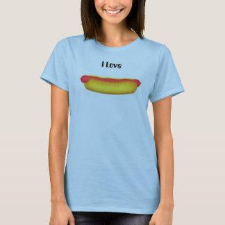 Hotdog, I Love T-Shirt