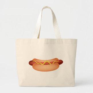 Hotdog Large Tote Bag