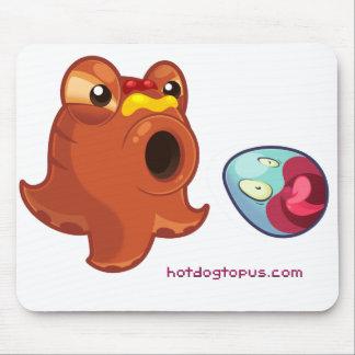 Hotdog Octopus Hotdogtopus Mouse Pad