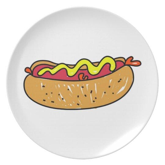 Hotdog Plate