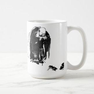 Hotei by Miyamoto Musashi Basic White Mug