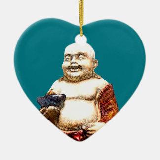Hotei Laughing Buddha Christmas Ornament