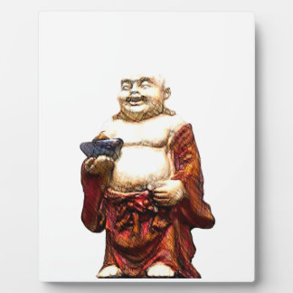 Hotei Laughing Buddha Plaque
