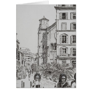 Hotel 5 and Notre Dame Cannes 2014 Card