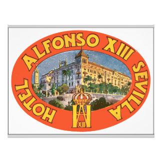 Hotel Alfonso Xiii Sevilla , Vintage Flyers