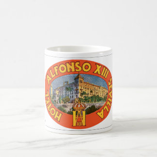 Hotel Alfonso XIII_Vintage Travel Poster Coffee Mug