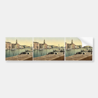 Hotel Bauer Grunewald, Venice, Italy vintage Photo Bumper Stickers