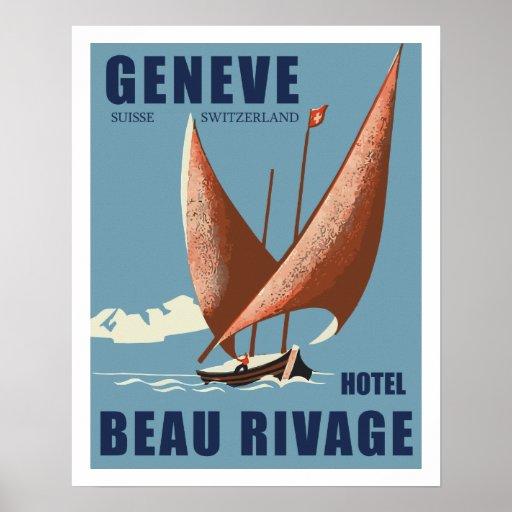 Hotel Beautiful Shore (Geneva - Switzerland) Posters