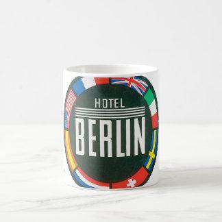Hotel Berlin_Vintage Travel Poster Artwork Basic White Mug