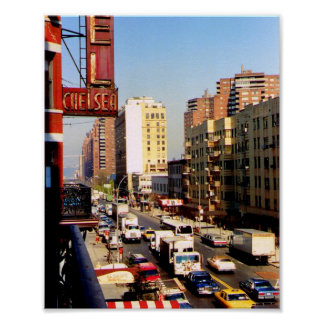Hotel Chelsea, 8 x 10, New York City, Print