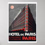 Hotel de Paris (Paris) Poster