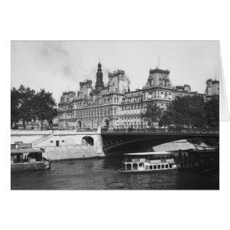 Hotel de Ville, 1882 Card