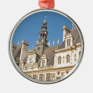 Hotel de Ville (City Hall) in Paris, France Christmas Ornament