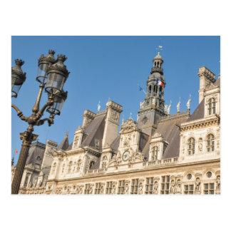 Hotel de Ville (City Hall) in Paris, France Postcard