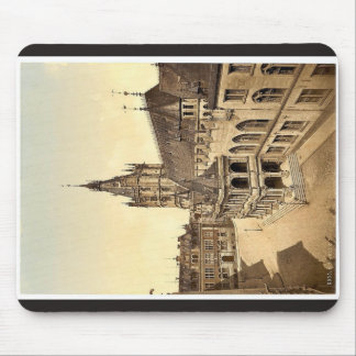 Hotel de Ville, Cologne, the Rhine, Germany classi Mouse Pad