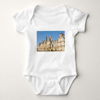 Hotel de Ville in Paris, France Baby Bodysuit