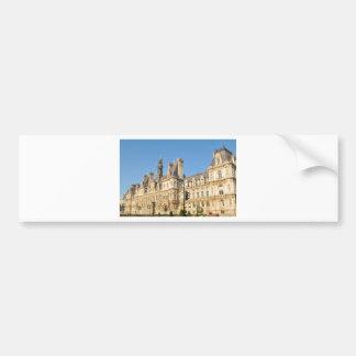 Hotel de Ville in Paris, France Bumper Sticker