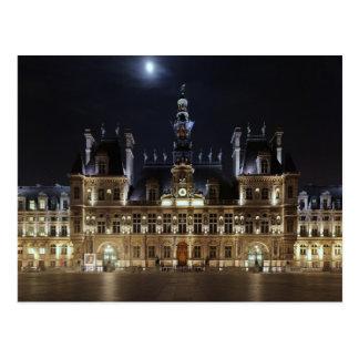 Hotel de Ville Paris Postcard