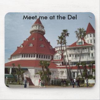 Hotel_del_Coronado, Meet me at the Del Mouse Pad