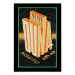 Hotel Duna Budapest Posters