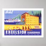 Hotel Excelsior Dubrovnik Print
