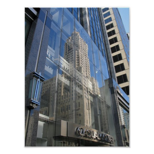Hotel Inter-Continental vs. 430 N Michigan Ave Poster