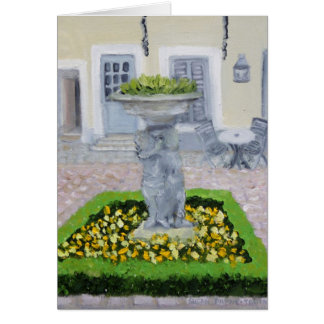 Hotel Londres Fontainebleau FRANCE Greeting Card