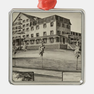 Hotel Lookoff, Sugar Hill, NH Christmas Ornament