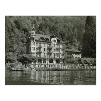 Hotel Lutzlau, Lake Lucerne Postcard