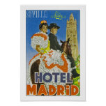 Hotel Madrid Poster