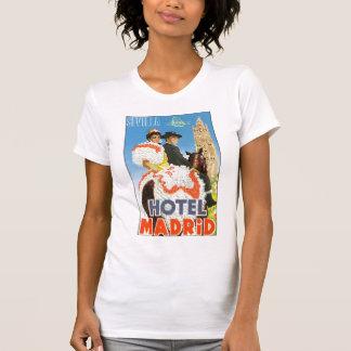 Hotel Madrid Vintage Travel Poster T-Shirt